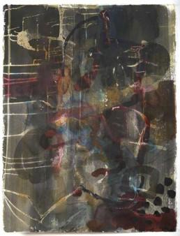Roni Sherman Ramos watercolor on paper