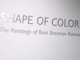 Atlantic Galery NYC: Shape of Color Exhibition