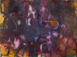 Roni Sherman Ramos, oil on panel - Filament