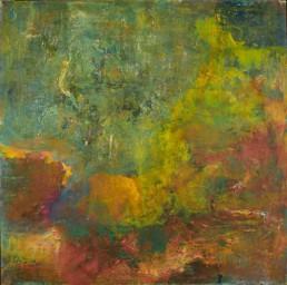 Roni Sherman Ramos, oil on linen - Stepping Stones
