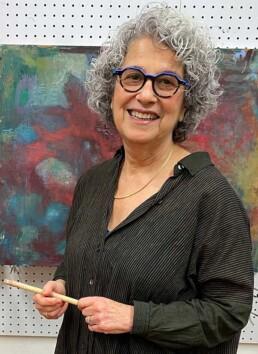 Roni Sherman Ramos in Studio